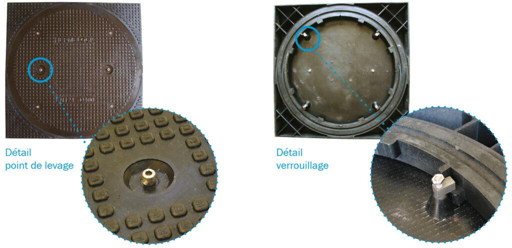 Système de levage et verrouillage tampons HERMELOCK